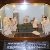 Model Of Kasturba Died On The Lap Of M.Gandhiji