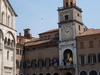 Modena Cathedral Left And City Hall Right