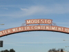 Modesto Arch Including The City Motto