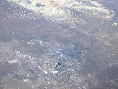Monahans Texas Airphoto