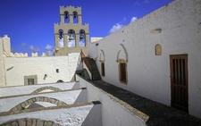Monastery Of St. John - Terrace & Bell Tower