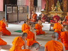 Monks In Wat Phra Singh