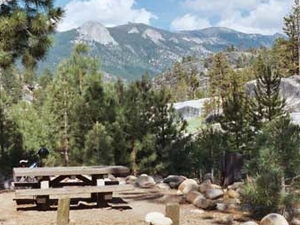 Mono Hot Springs Campground