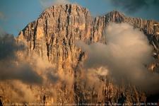 Monte Civetta Peak View - Dolomites