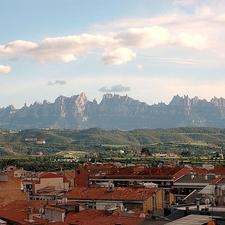 Montserrat Des De Manresa