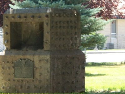Monument In  Ammon  Idaho
