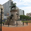 Another View Of Monument To Giuseppe Garibaldi