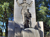 Monument To Pedro De Mendoza At Lezama Park