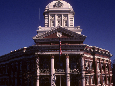 Morgan County Courthouse Built 1905 Madison Georgia