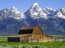 Mormon Row Views - Grand Tetons - Wyoming - USA