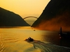 Morning Over Yangtze River At Three Gorges
