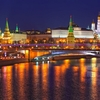 Moscow Kremlin Winter View