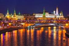 Moscow Kremlin Winter View