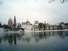 Moscow Novodevichy Convent - Winter View