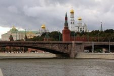 Moskva River With Kremlin Walls & Towers