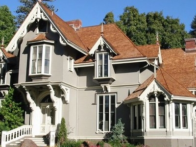 J. Mora Moss House In Mosswood Park