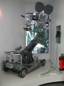 Motion Picture Camera On A Dolly