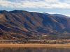 Mountain Mesa Viewed From Across Lake Isabella