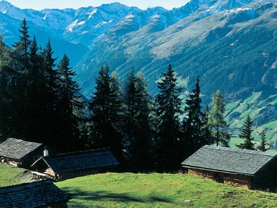 Mountain Panorama In Tirol