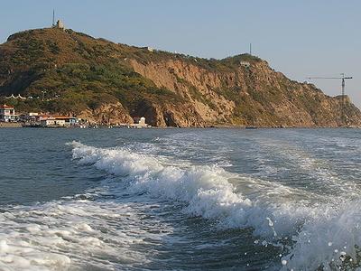 Mount Bijia At High Tide