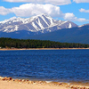 Mount Elbert Seen From Turquoise Lake