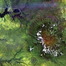 Mount Elgon Aerial View UG & KE