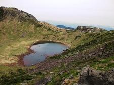 Mount Hallasan At Jeju - South Korea