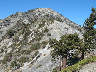 Mount Hardwood From Devils Backbone