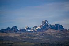 Mount Kenya On The Skyline