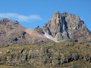 Climbing Mount Kenya on Sirimon - Chogoria Route Photos