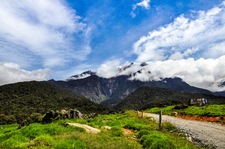 Mount Kinabalu From Below