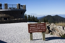 Mount Mitchell Peak View - North Carolina