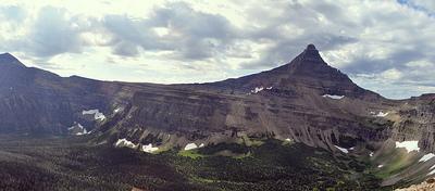 Mount Morgan - Glacier - USA