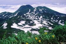 Mount Myōkō Seen From Mount Hiuchi