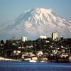 Mount Rainier, With Tacoma