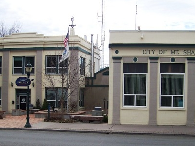 Mount  Shasta  Police And  City  Hall