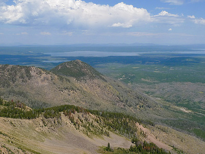 Mount Sheridan Trail - Yellowstone - USA