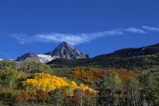 Mount Sneffels From West Dallas Creek Road