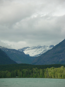 Mount Vaught At Glacier - USA