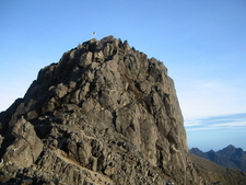 The Granite Peak Of Mount Wilhelm