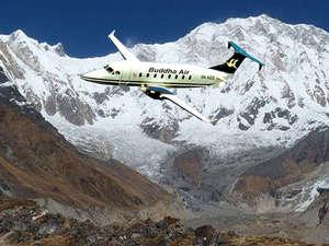 Everest Mountain Flight Photos