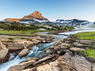 Mt Logan Pass - Glacier NP