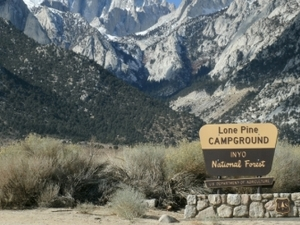 Monte Whitney Campground Trailhead