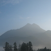 Mt Yufu At Morning
