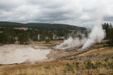 Mud Geyser - Yellowstone - USA