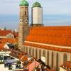 Munich Frauenkirche From Neues Rathaus