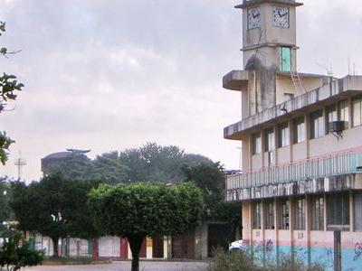 Municipal Library In Oaxaca Mexico