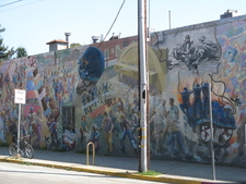 Mural By People's Park