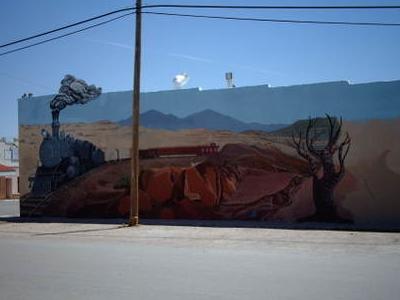 Mural In Downtown Mountainair