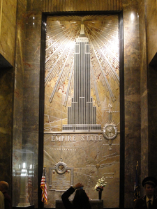 Mural Of The Building Located In The Lobby